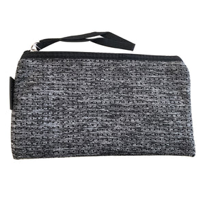 Dark Marle Grey Neoprene Purse