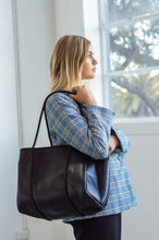 Billy (Metallic Black) Work/Nappy/Uni Neoprene Tote Bag