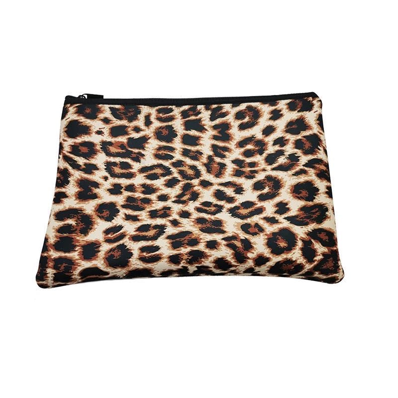 Leopard Neoprene Laptop Case
