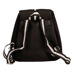 Hudson (Black) Neoprene Backpack