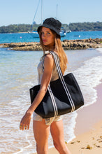 Aria (Black) Nappy/Gym/Uni Neoprene Tote Bag