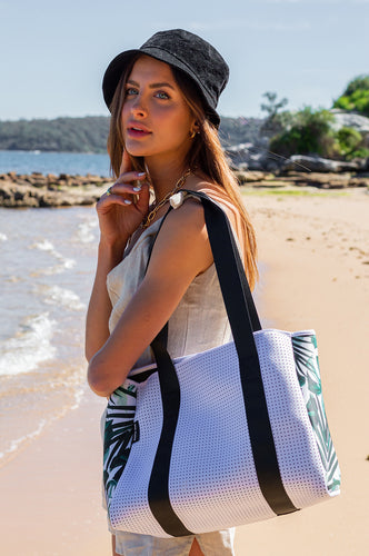 Palm Beach (Tropical) Neoprene Tote Bag