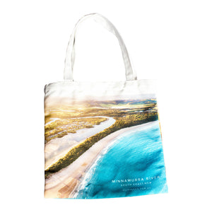 Minnamurra River Canvas Tote Bag - neoprenebags