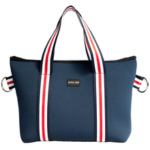 Harper (Navy) Small Neoprene Tote/Crossbody Bag - neoprenebags