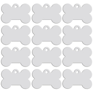 Engraved Pet Tag 40mm x 27mm x 1mm - Status Mugs