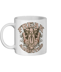 [personalised_mug]Freak Addicted - Urban Gothic Photo Mug - status mugs