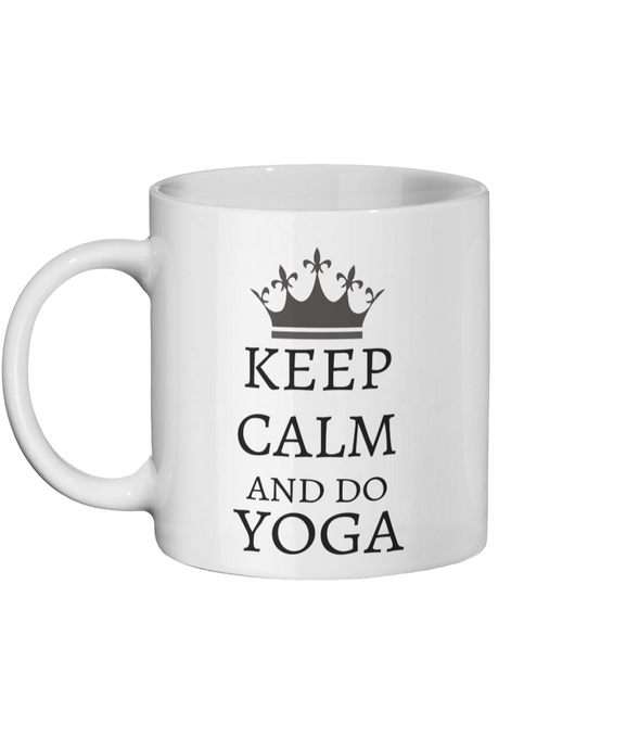 [personalised_mug]Keep Calm And Do Yoga Custom Mug - status mugs