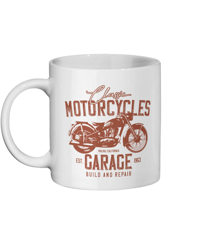 [personalised_mug]Classic Motorcycles Personalised Custom Mug - status mugs