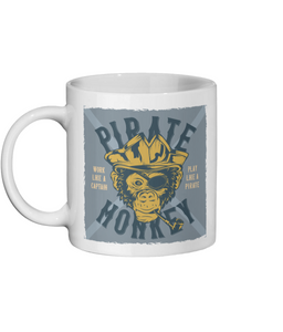 [personalised_mug]Pirate Monkey Custom Personalised Mug - status mugs