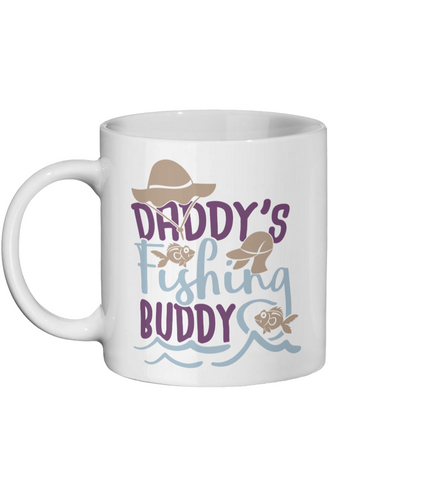 Daddy's Fishing Buddy-Fishing Mug - Status Mugs