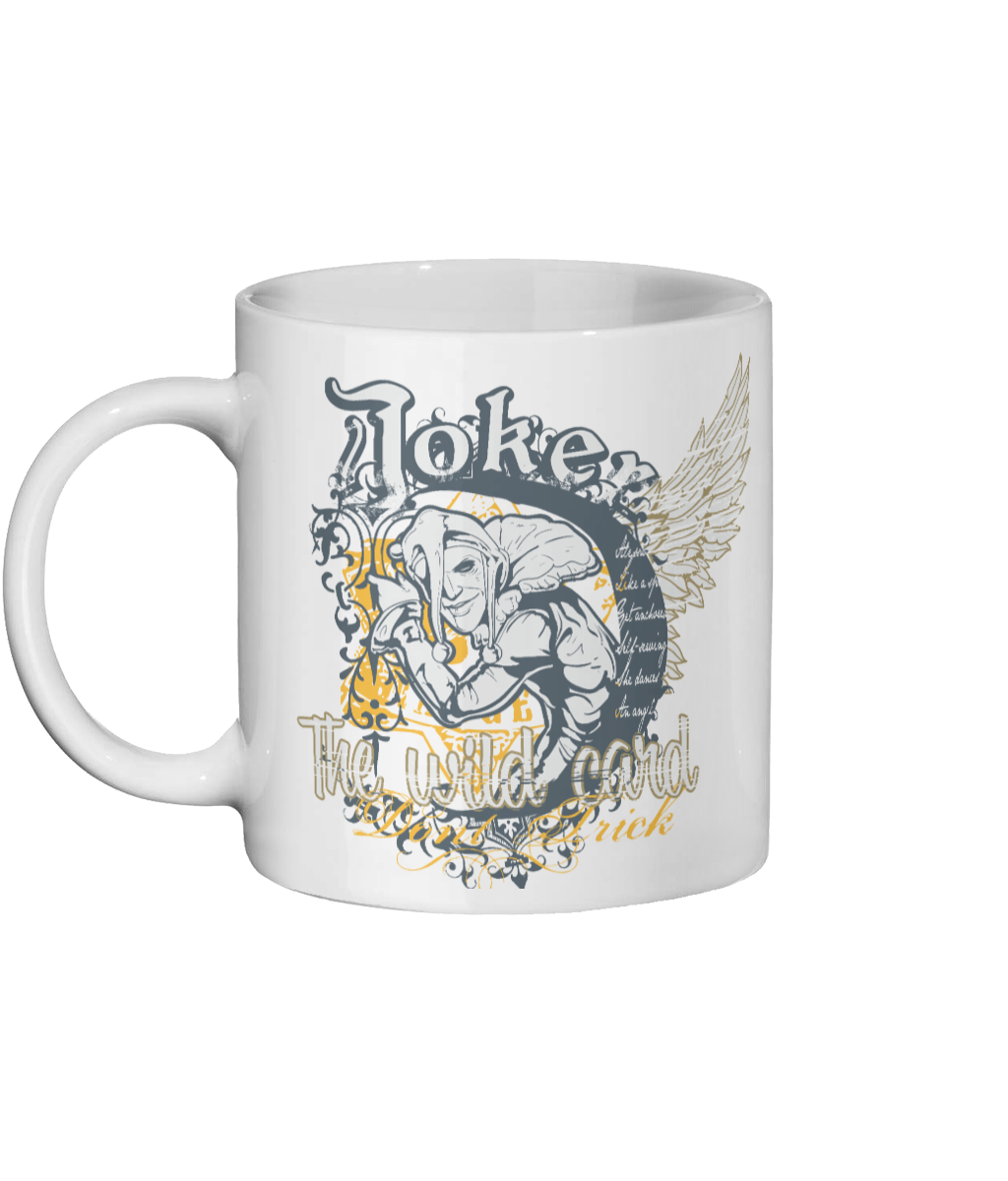 The Wild Card Joker Custom Mug - Status Mugs