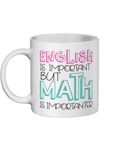 English Is Importent Funny Custom Ceramic Mug - Status Mugs