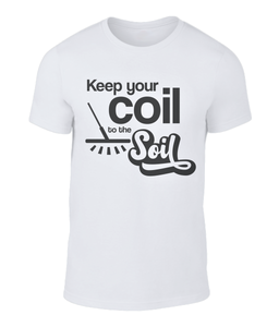 Metal Detector T-shirt coil to the soil - Status Mugs