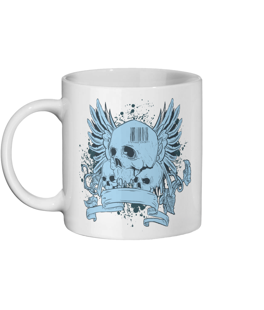 [personalised_mug]Urban Design Skull-Personalised Custom Mug - status mugs