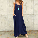 Sheer Casual Long Maxi with Pockets