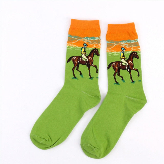 Famous Painting Socks