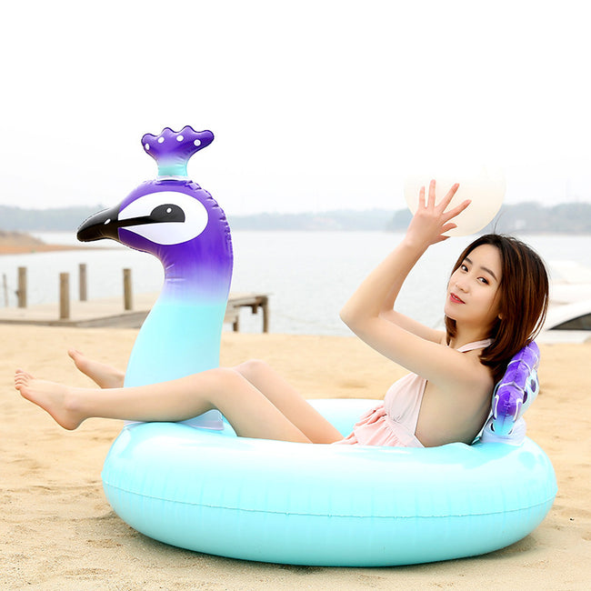 Peacock Float