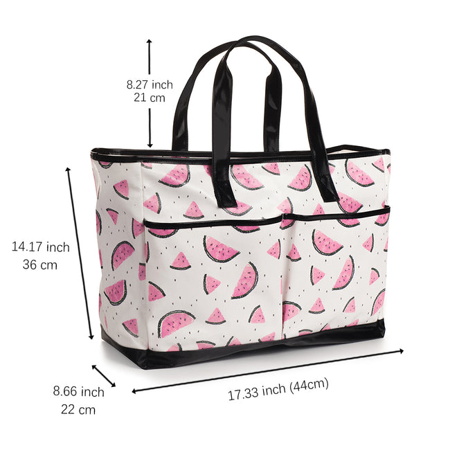 Juicy Watermelon Beach Tote - Large