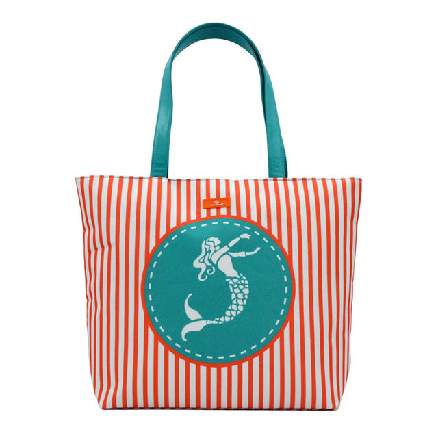 Waterproof Patterned Beach Bag