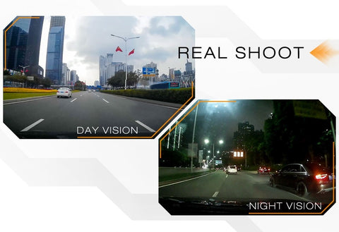 Discover RS3 Mini Wi-Fi DVR Car Dash Camera Night and Day Photo