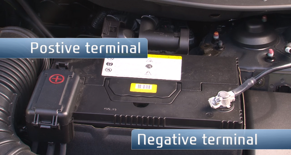 Discover Your Car - How To Jump Start A Car - Positive And Negative Terminals