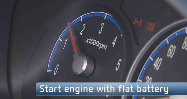 Discover Your Car - How To Jump Start A Car - Start Engine With Flat Battery