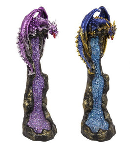 DRAGON INCENSE BURNER (27cm )