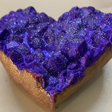 AMETHYST HEART CRYSTAL HANDCRAFTED SOAP