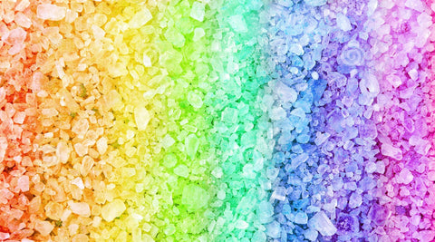 Fragranced & Coloured Relaxation Bath Salts - 1kg wholesale