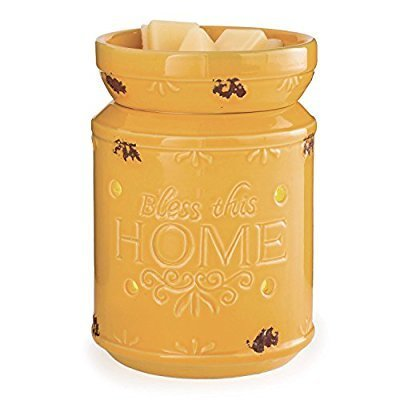 BLESS THIS HOME Large Melt Warmer