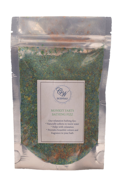 Fragranced & Coloured Relaxation Bath Salts - 200gram packs