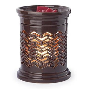 Chevron Large Illumination Melt Warmer - Limited Edition