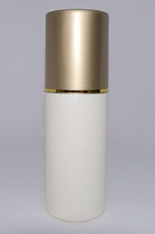 150ml Cream Bottle with Gold Overcap and Serum Pump - limited edition