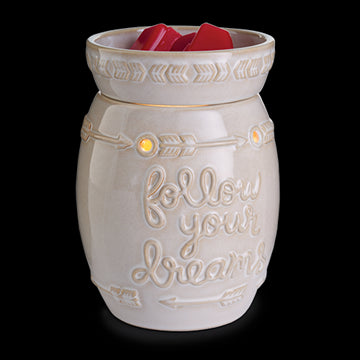 FOLLOW YOUR DREAMS Large Illumination Melt Warmer