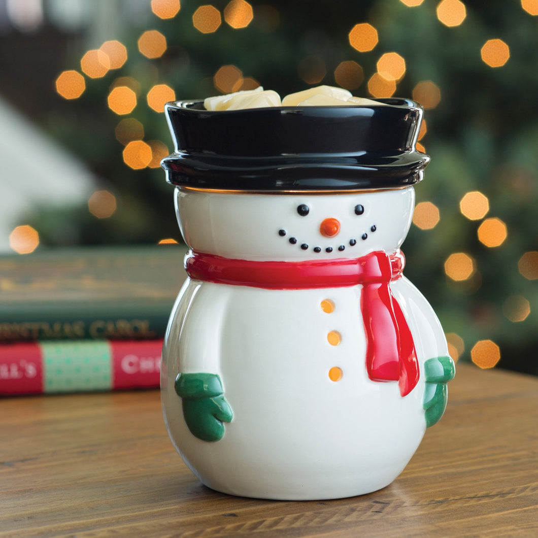 Large Snowman Illumination Melt Warmer (Limited Edition)