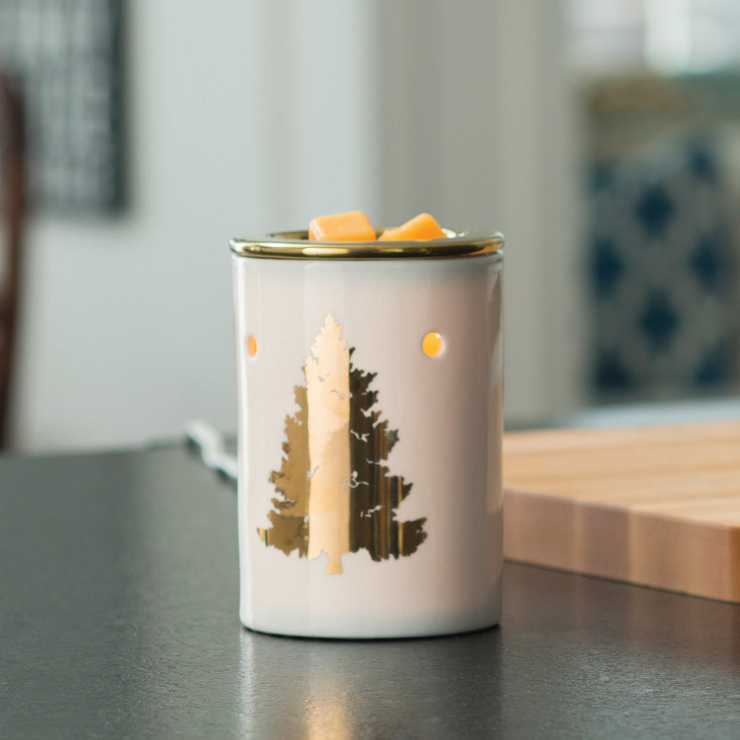 LIMITED EDITION - GOLDEN FIR XMAS TREE ILLUMINATION MELT WARMER
