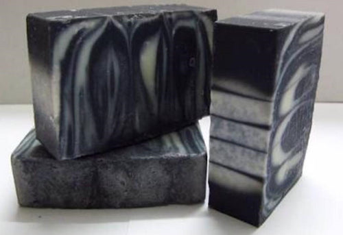 Handcrafted Organic Activated Charcoal and Goats Milk Cleansing Soap