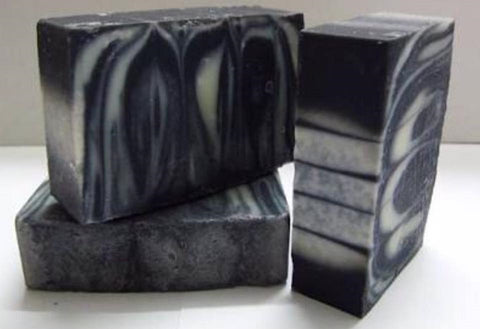 Handcrafted Organic Activated Charcoal and Goats Milk Cleansing Soap (uncoloured & unscented)