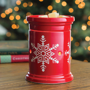 SNOWFLAKE Star Illumination Large Melt Warmer (Christmas - Limited Edition)