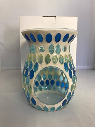 Mosaic Seascape Fantasy - Tealight candle melt warmers