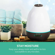 4-In-1 Aromatherapy Led Ultrasonic Humidifier, Diffuser, Purifier & Night Light - 500ml (SOLD OUT)