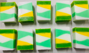 Coconut Lime Verbena Handcrafted Soaps - limited edition