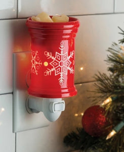 NEW LIMITED EDITION - SNOWFLAKE XMAS PLUGGABLE MELT WARMER