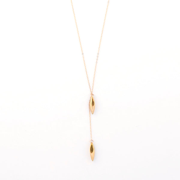 SEED LARIAT NECKLACE