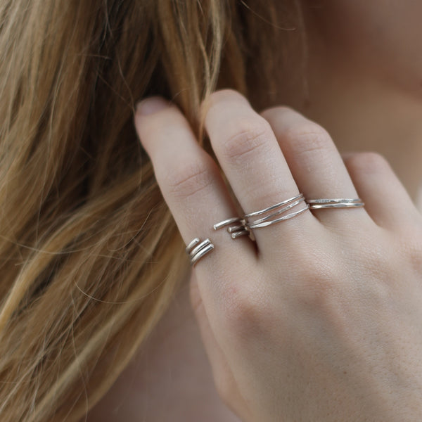 OPEN STACKING RING
