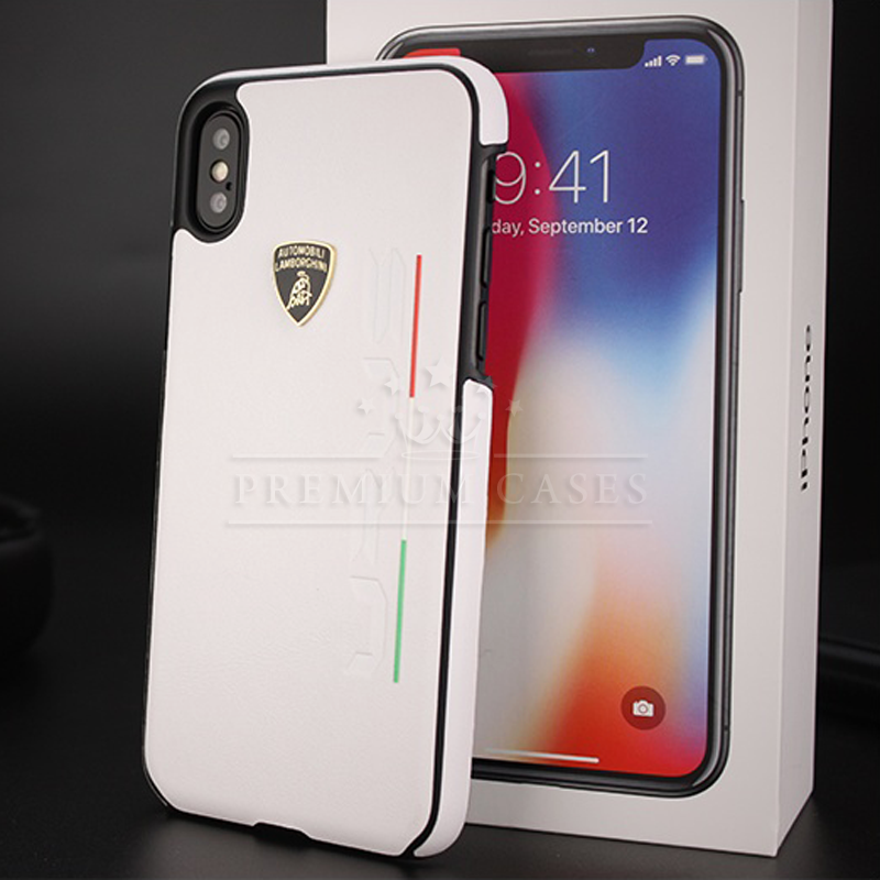 buy popular 3f62d 94109 Lamborghini URUS Genuine Carbon Fiber Leather Case For iPhone X ...