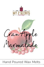 Load image into Gallery viewer, Cran-Apple Marmalade Wax Melt