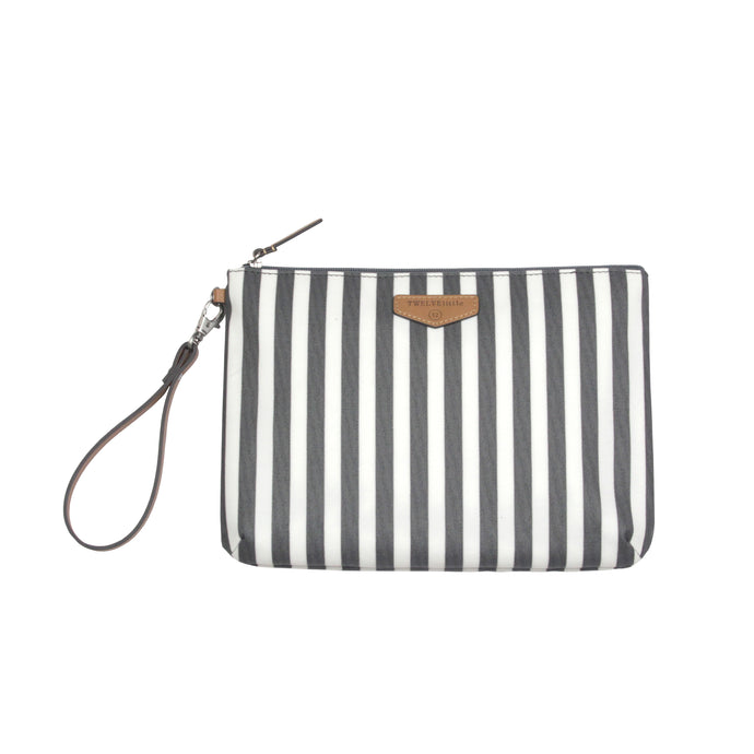Easy Diaper Pouch in Stripe Print