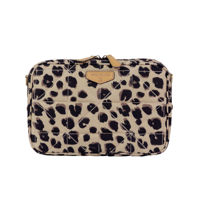 12Little Diaper Clutch in Leopard Print