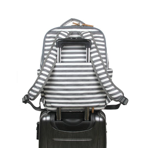 On-The-Go Backpack in Stripe Print